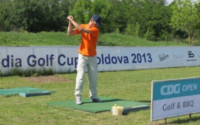 В Молдове прошел второй турнир по гольфу Media & Marketing Golf Cup Moldova 2014 Spring