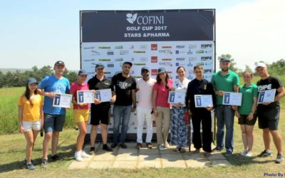 Впервые в Молдове прошел турнир по гольфу COFINI Golf Cup'17 Stars&Pharma.