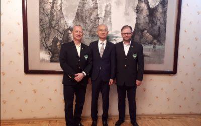 Vizită oficială la Ambasada Chinei în Republica Moldova