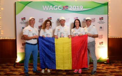 Гольфисты Румынии и Молдовы приняли участие в World Amateur Golfers Championship 2019
