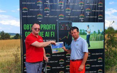 В Молдове впервые прошел Yougile Golf Cup 2020
