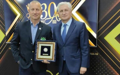 The Olympic Order was awarded to the President of the Association