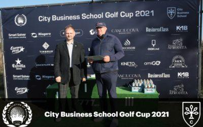 City Business School Golf Cup 2021 впервые прошел в Молдове в поддержку бизнес-образования и развития предпринимателей.